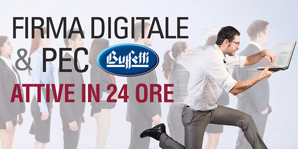 Firma Digitale e PEC Buffetti